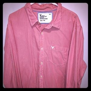 American eagle long sleeve men's dress shirt.